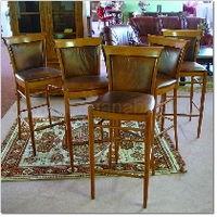 5x barová židle